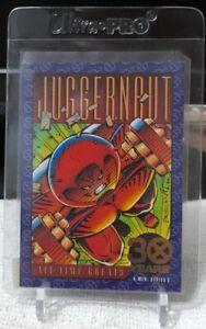 SKYBOX 1993 X-Men Series 2 JUGGERNAUT 30th Anniversary Gold Foil Card