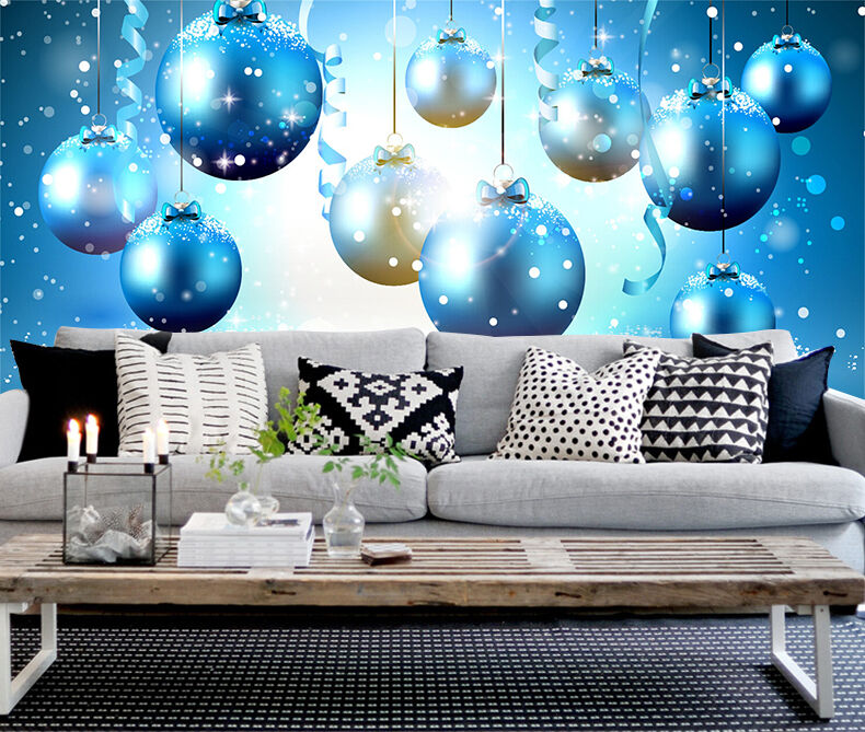 3D bluee Pattern 725 Wall Paper Wall Print Decal Wall Deco Indoor Wall