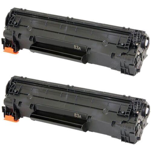 MysteryFreebie Black Compatible Toner cartridge for HP LaserJet 83A 2x CF283A