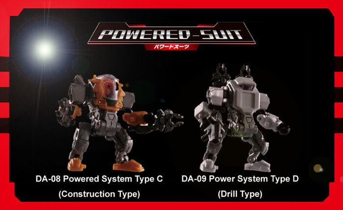 Takara Transformers Diaclone energiaosso System DA08  DA09 Set nuovo