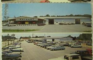 Chevrolet Dealer Post Cards Michigan City Indiana Enyeart 1968 2 Cards Ebay