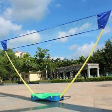 3 in1 Outdoor Portable Badminton Set Tennis Volleyball Net with Stand Battledore