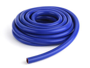.500 13mm 1//2 ID x 25 ft Blue High Performance Silicone Heater Hose