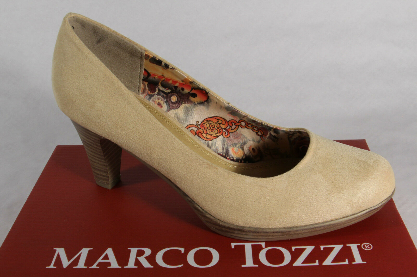 Marco Tozzi Court shoes, Yellow, Soft Inner Sole New