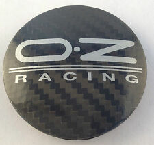 OZ Black Carbon Fiber M595 Wheel Center Cap PA66M15 62mm 81310436 New