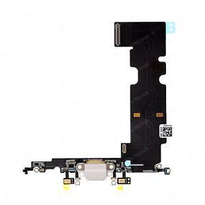 100% Vrai Aex Remplacement Port De Charge Flex Pour Iphone 8 Plus (noir/blanc) (blanc)-afficher Le Titre D'origine