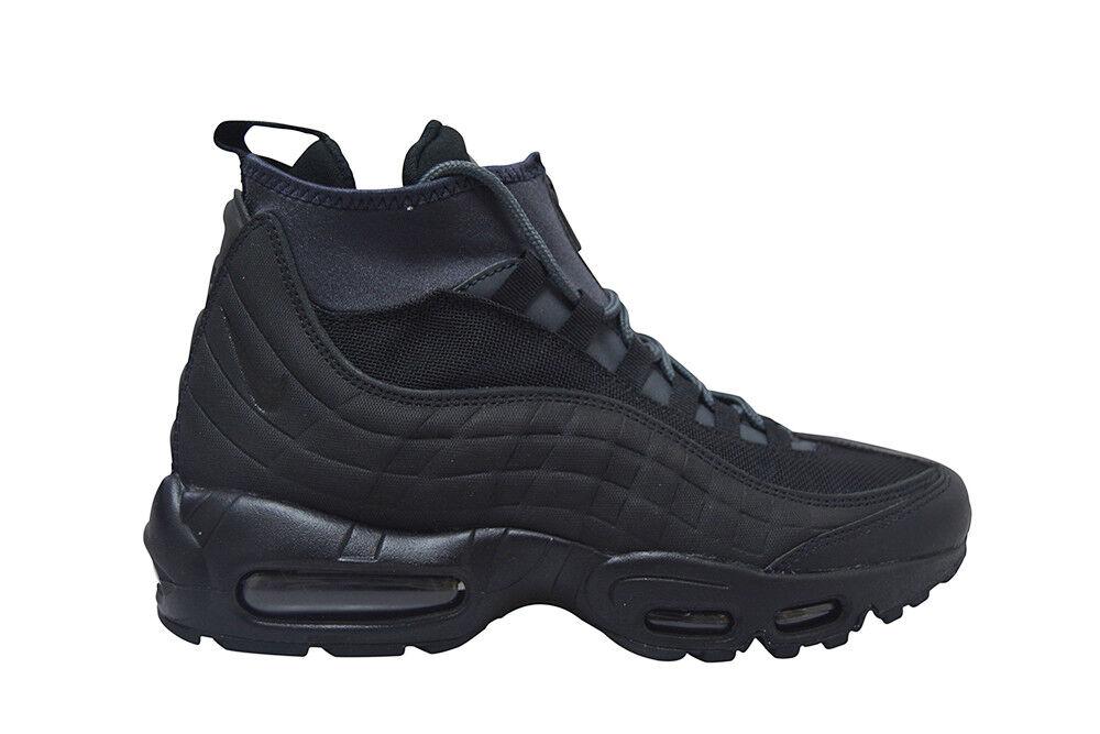 Homme Nike Air Max 95 Sneakerboot - 806809 001-Noir Baskets-