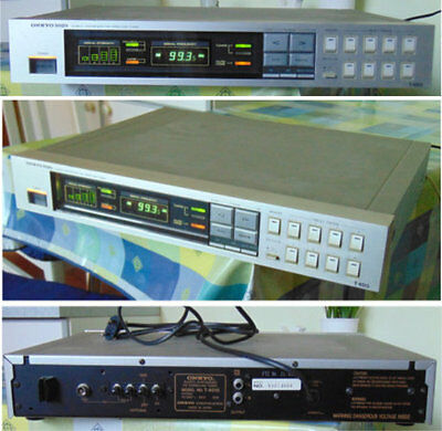 100% QualitäT Onkyo Quarz-synthesizer, Tuner. HüBsch Und Bunt