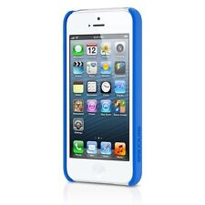 InCase iPhone 5 5s Pro Snap Case.  Clear With Blue Grip On Side.  Cl69055. New!