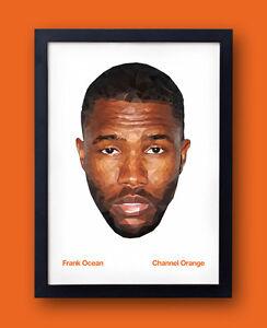 Details about Frank Ocean - Channel Orange Poster - kanye west Jay-Z  OFWGKTA pyramids tyler