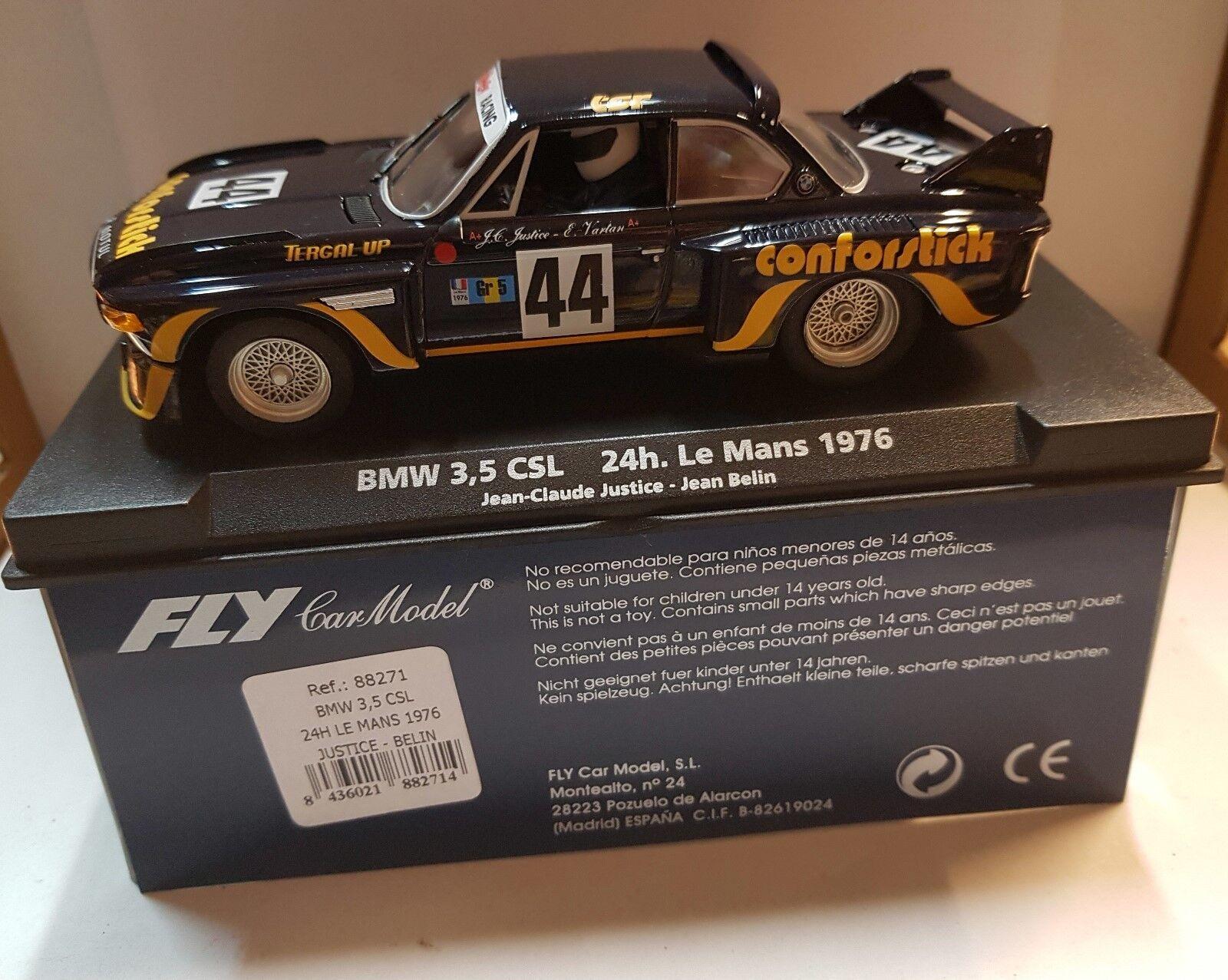 Qq Qq Qq 88271 FLY BMW 3.5 CSL 24H LE MANS 1976 JUSTICE-BELIN  punto de venta