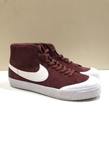 531b19a36cf0 Nike SB Blazer Mid XT Dark Team Red White Size 10 876872-619
