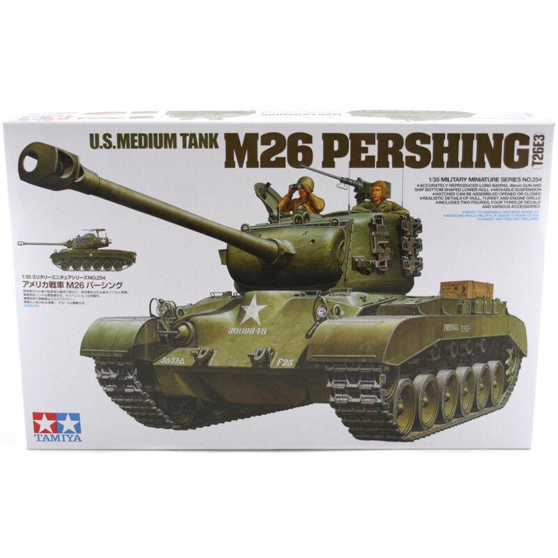 Tamiya U.S. Tank M26 Perishing (T26E3) (Scale (Scale (Scale 1 35) Model Kit 35254 NEW 4a78b9