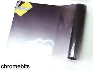 auto sonnenblende frontscheibe film get nt streifen schwarz transparent camper ebay. Black Bedroom Furniture Sets. Home Design Ideas