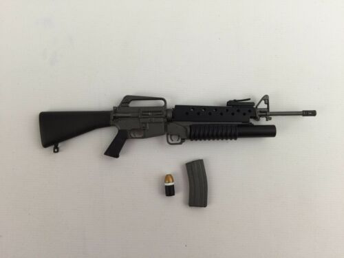 M16A plus 203 Riffle 1//6th Scale Action Figure by X Toys