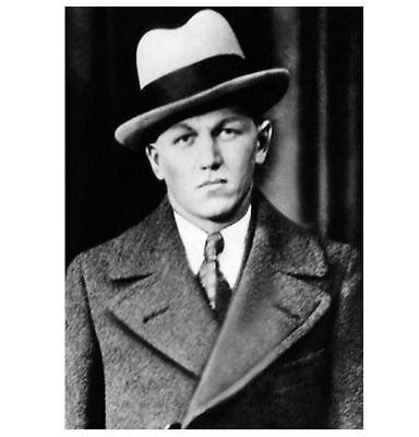 Great Depression Baby Face Nelson PHOTO Gangster Shot by FBI George Nelson