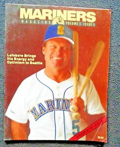 1989-MARINERS-MAGAZINE-Vol-1-1-FN-JIM-LEFEBVRE-MGR-cov-PREMIERE-Issue-exc