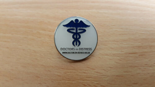 All Proceeds donated to the Charity Doctors in Distress Pin Lapel Badge
