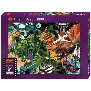 ALEXANDRE CLÉRISSE - STEVEN SPIELBERG FILMS - Heye Puzzle 29883 - 1000 Pcs.