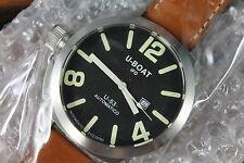 NEW U-BOAT Nero U-53 Automatic Black Dial Mens watch Limited No. 320 MSRP 2400