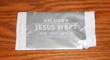 P.M. Dawn Jesus Wept Tattoo Card in wrapper 1993 Promo 4.5x2 RARE
