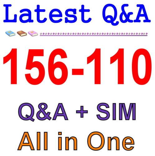 Check Point Certified Security Principles Associate 156-110 Exam Q/&A PDF+SIM