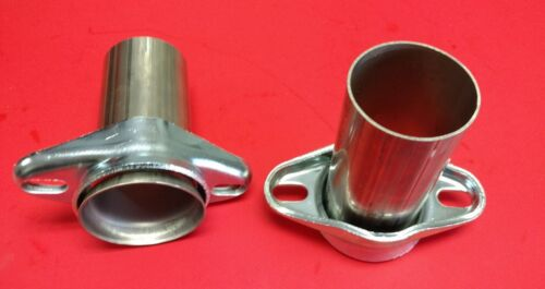 """2.5/"""" HEADER TO 2.5/"""" OD 304 STAINLESS PIPE 2 BOLT BALL /& SOCKET HEADER COLLECTOR"""