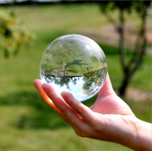 60mm Photography Crystal Ball Sphere Decoration Lens Photo Prop Lensball Clear