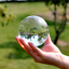 thumbnail 1 - 60mm Photography Crystal Ball Sphere Decoration Lens Photo Prop Lensball Clear