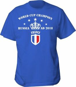 pretty nice 448c1 bac32 Details about shirt france t football world cup 2018 mens retro french top  soccer men