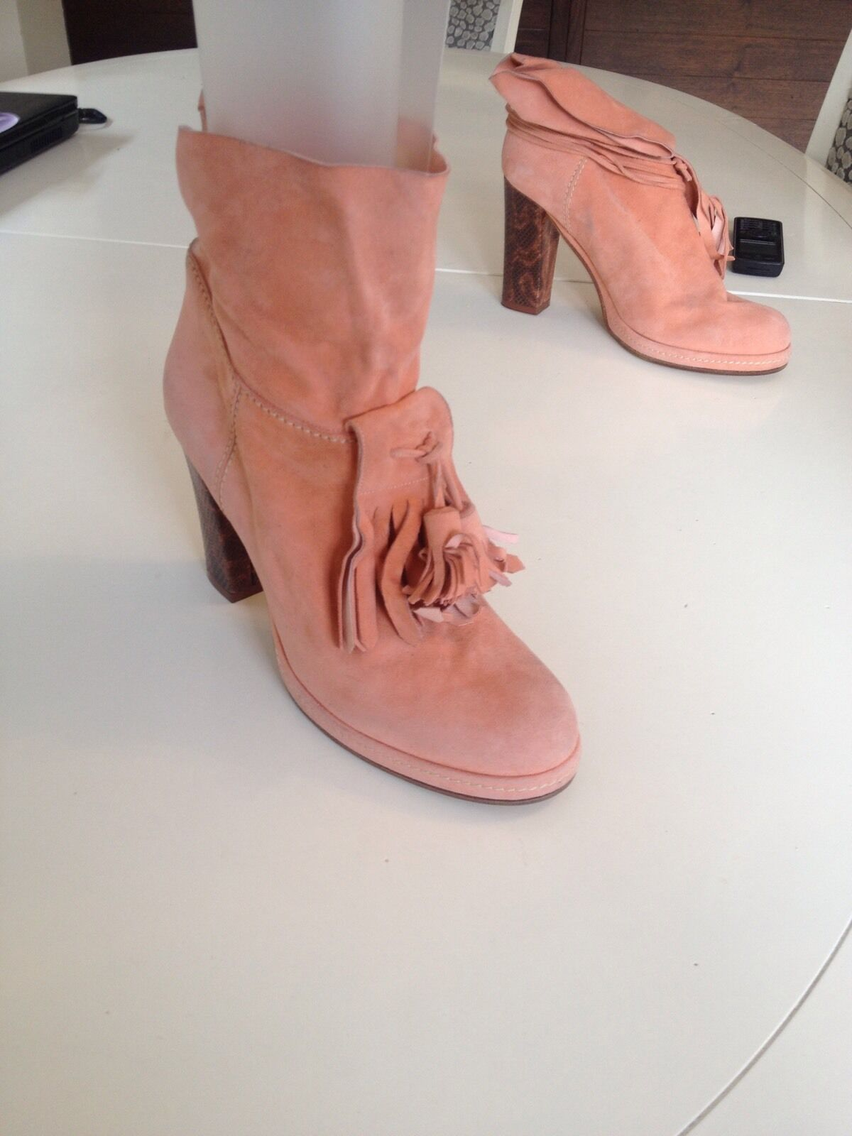 French designer Boots Size 5