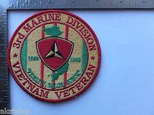 USMC 3rd MARINE DIVISION (VIETNAM) PATCH 3rd MARDIV