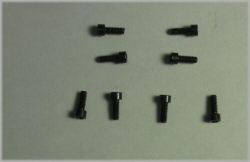 "2-56 X 1//4/"" Socket Head Cap Screw Black Oxide Qty 8"