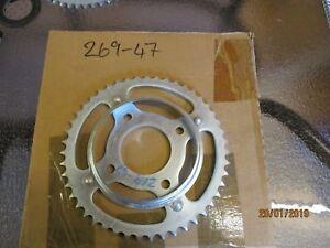 47T-JT-REAR-SPROCKET-FITS-HONDA-SL125-K1-S1-1976-1980