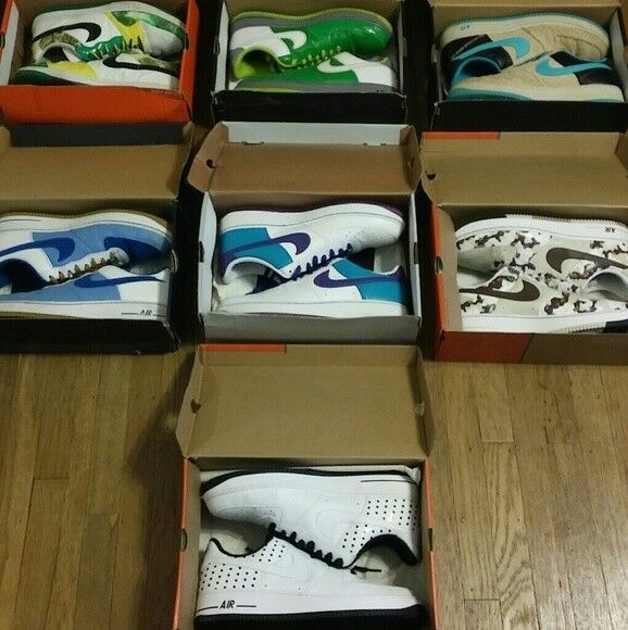 2007 Air Force 1s Collection- Size 13