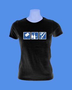 Girlie-Damen-Shirt-Party-Feiern-Konsum-move2be-schwarz-S-M-L