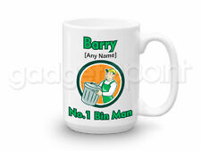 Personalised Gift Binman Large Mug Refuse Birthday Christmas Dad Work Present