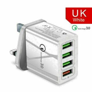 4-Port-Fast-Qualcomm-Quick-Charge-QC-3-0-USB-Wall-Charger-Adapter-WHITE-NYP-A75