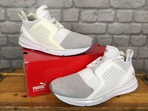 Eu 7 40 5 £ Limitless Knit Puma Rrp Uk Ignite Mens Plata Trainers 95 Blanco qgAnxR4Et