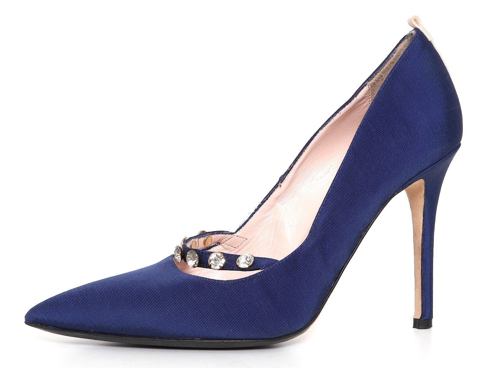 SJP High Heel Pumps Navy bleu femmes Sz 35 EUR 1133