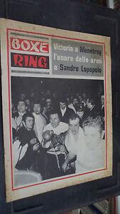 BOXE-RING-N-24-1972-VITTORIA-A-MENETREY-L-039-ONORE-DELLE-ARMI-A-SANDRO-LOPOPOLO