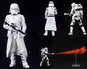 Star Wars Figurines x2 First Order Snowtrooper & Flametrooper ArtFX+ Statue - HU