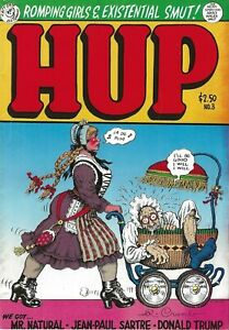 R-CRUMB-HUP-NUMBER-3-1989-SIGNED-BY-R-CRUMB-DONALD-TRUMP-034-EXISTENTIAL-SMUT-034