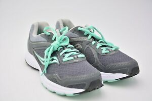 Details about Saucony Womens Grid Cohesion 10 Sneaker Grey Mint Size US 9 EU 40.5 UK 7 Used