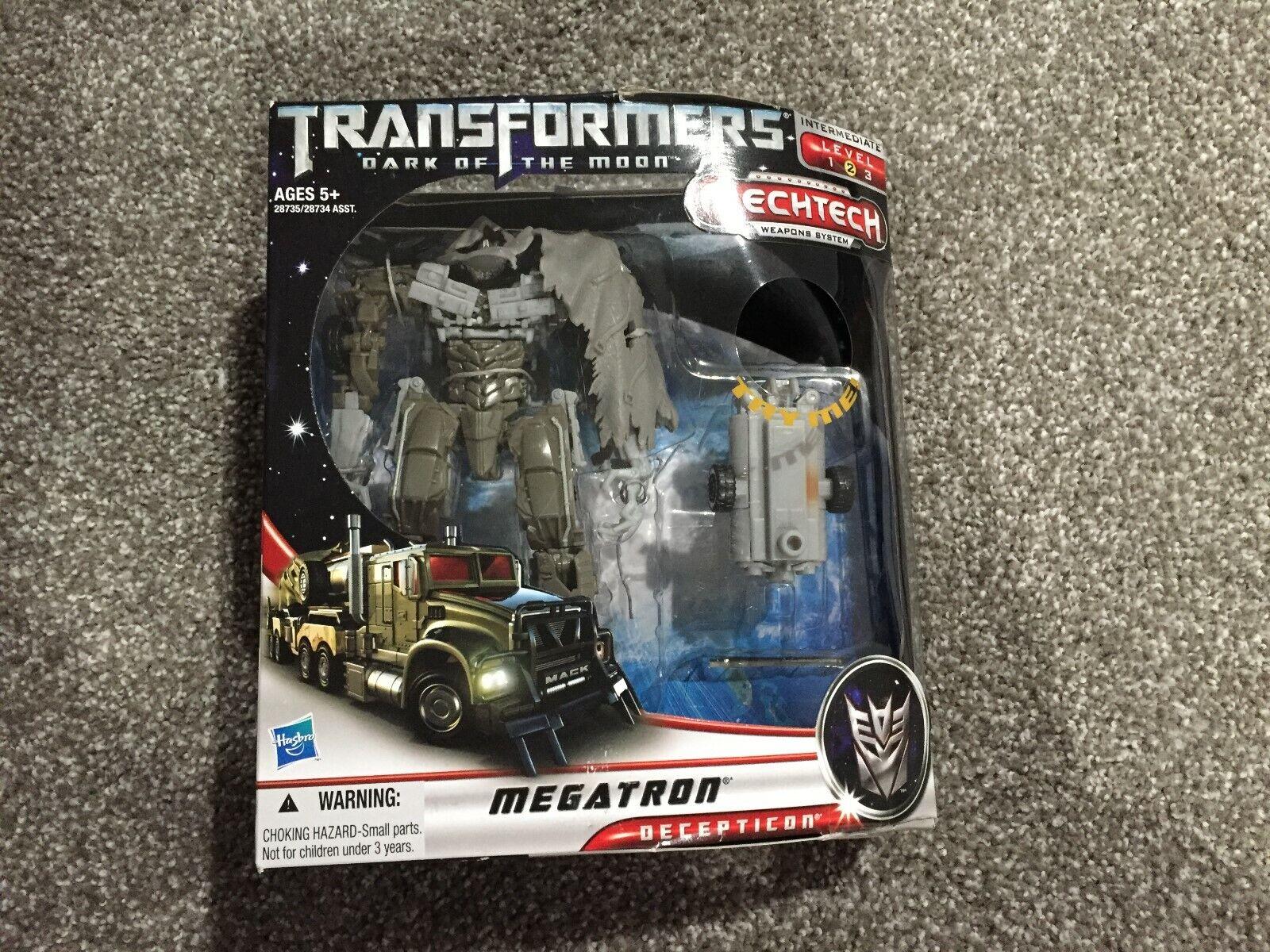 Transformers Dark of the Moon Megatron Megatron Megatron Mechtech 709133