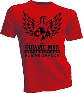 76db911f9db Club America Mexico Aguilas Camiseta T Shirt Odiame Mas Red Soccer ...