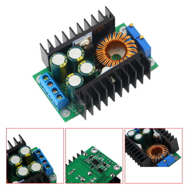 DC-DC CC CV Buck Converter Step-down Power Supply Module 7-32V to 0.8-28V 12A DE