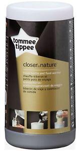 Bon CœUr Tommee Tippee Closer To Nature Voyage Bouteille Food Warmer Baby Feeding Bn-afficher Le Titre D'origine