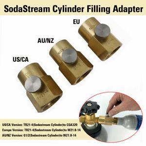 Sodastream-Soda-Club-Co2-Cylinder-Refill-Adapter-With-Connector-W21-8-14-CGA320