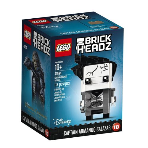 LEGO 41594 BrickHeadz Captain Armando Salazar New Disney